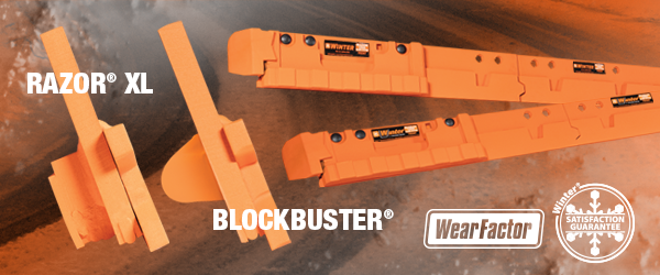 BlockBuster vs Razor XL cutting edge snow plow systems
