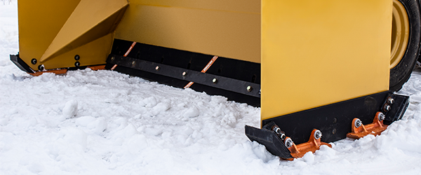 Pusher Box Plow Skid Shoes