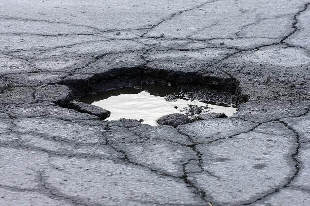 Pothole - Road Maintenance