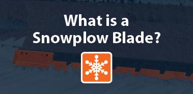 What is a Snowplow Blade? - Winter Equipment Website