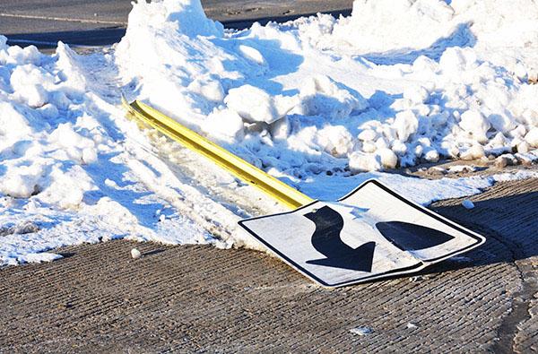 Sign Damage - Road Maintenance