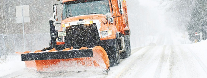 snowplow driver safety
