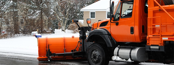 snowplow blade installation