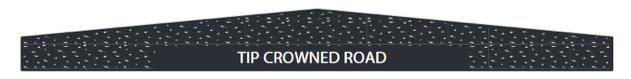 Tip crowned